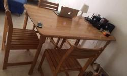 I am moving houses need to give away my dining table