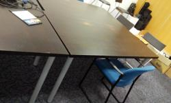 office moving out sale! total of 3 x tables for sale!