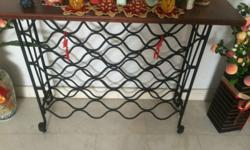 Moving Sales - Self collection Wooden Wine Rack L39cm X