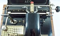 This 92 years old typewriter has recently been