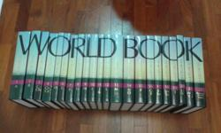 a set of 22 hard cover encyclopedia. Good for research