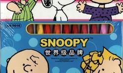 WOW SNOOPY Oil Pastels 24 at $4 26 at $54