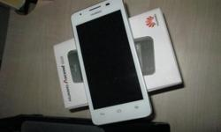 wts 1 month 1 week old white color huawei g525 for $199