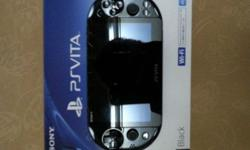 WTS 3 Day Old Black Sony Ps Vita Slim For $228 Cheap!