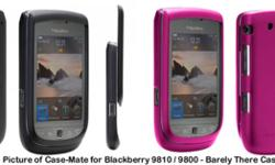 ACCESSORIES FOR Blackberry 9810 / 9800 CASE-MATE CASES