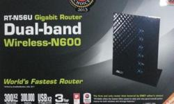 Selling Asus Router RT-N56U Still have 2 years warranty