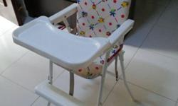 WTS Baby high chair at $20. Condition 8/10. Interested,