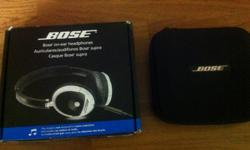 -Like New but used Authentic Bose On Ear Headphones for