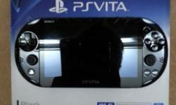 WTS Brand New Black Sony Ps Vita Slim For $277 Cheap!