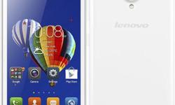 Selling a local set Lenovo A606 in white colour still
