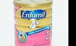 I have 5 tins of brand new Enfamil Stage 2 (1.8kg) for