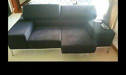Am selling the Sofa 200cm x 90cm, adjustable neck rest