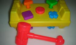 Selling a used Fisher-Price shape hammering toy in very