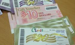I have vouchers that can be used at guardian, giant,