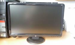 Rarely use HP LCD color monitor 18.5in (47cm) Model: