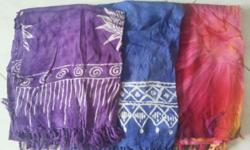 3 Pieces of ladies scarf selling for $5