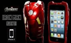 Limited Edition Iphone 4/4s/5 Iron Man Mark VII casing!
