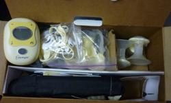 Used Medela Freestyle Breast Pump. In very good