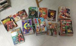 Hi I am selling all my misc Street Fighter and DC