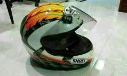I wts my shoei Scott Russell helmet, new interior n