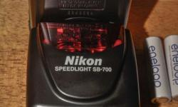 Nikon Speed light SB700, used only a few times.