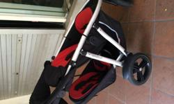 Phil and Teds Vibes stroller. The higher end stroller