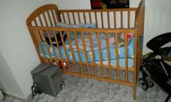 i have a good condition pinewood cot for sale along