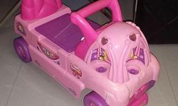 Selling a pre-loved toy car with seat that can be