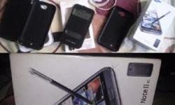 im selling my note 2. ccones with box , original