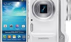 Selling Samsung S4 Zoom White with box and charger.