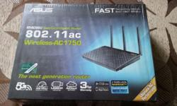 Tip top condition Asus RT-AC66U wireless router for