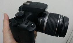 Hello all, I'm selling my used EOS 1000D, Very good