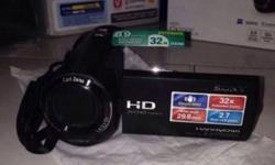 Want to sell my Sony HD Camcorder CX220E Completely