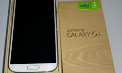 White Frost Samsung Galaxy S4 (Local Telco set) in 100%