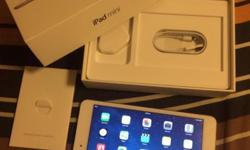 iPad Mini White 16GB, WIFI only, with 6 months