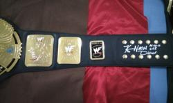 WWF Big Eagle World Heavyweight Championship (Signed By