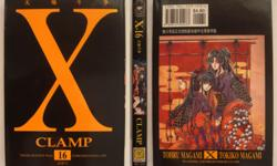 Details: X CLAMP comic book no. 16. In excellent