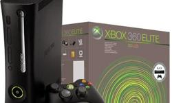 ***Xbox360 Elite with Hdmi port 120GB (Black) ***Items