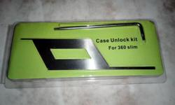 This unlocking kit, made for Xbox 360 slim cases,