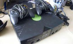 Selling this xbox first generation Comes with 2