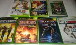 GAMES AVAILABLE: Xbox: 1)Crimson Skies : SOLD 3)