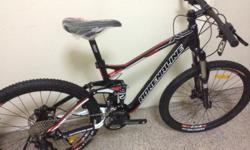Brand new full suspension xc mtb. Please sms 81838389