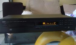 Yamaha CD Player (Made in Japan) Model CDX 470 Good