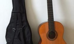 YAMAHA CG-100A Guitar with cover. Call me or Whatsapp