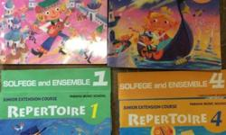 Yamaha Junior Extension Course Materials. Repertoire,