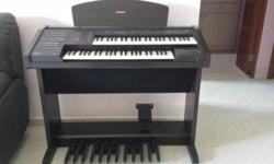 The Yamaha EL-100 electone is in a good condition, and