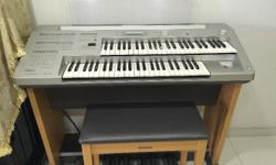In very good condition. with original bench, cover and