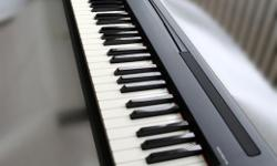 Yamaha P-85 Digital Piano Black Seldom used.