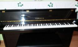 Yamaha M108 piano made in Japan, 10+ years old, in good