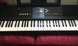 Yamaha PSR-E333 61-key touch response keyboard that